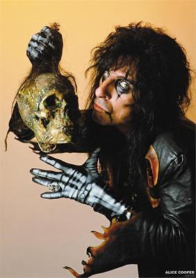Alice Cooper - Skull 1987 Poster - 24 In x 33 In - Wrapped