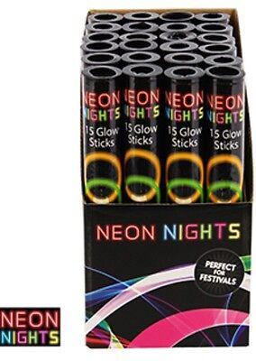 Glo In The Dark Party (150 NEON GLOW GLO IN THE DARK STICKS BRACELETS HEN NIGHTS KIDS ADULTS PARTY)