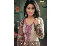 SHAHNAZ ART ZEENAT VOL-3 KARACHI PRINT WHOLESALE DRESS MATERIAL