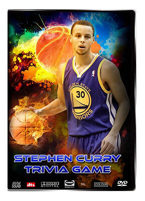 Stephen Curry DVD Trivia Game - Fun Fact Filled Trivia Family Game on DVD