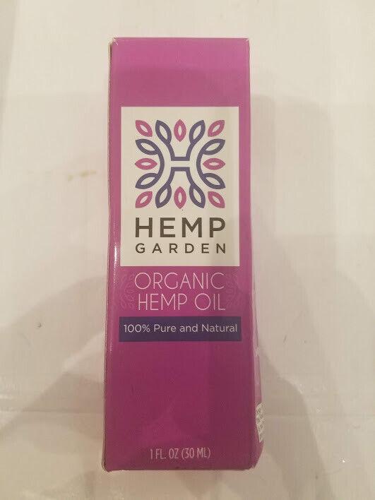 Hemp Garden - Organic Hemp Oil - 500 mg/1 fl. oz.