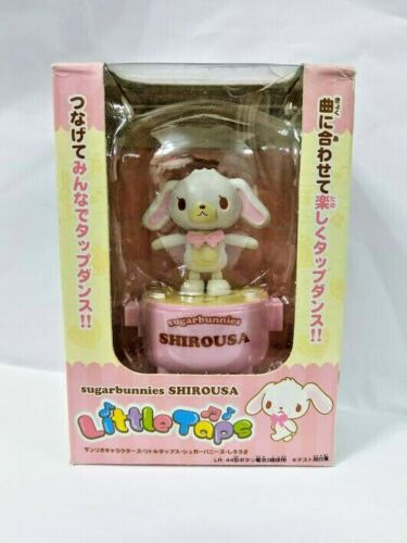 Sanrio Sugar Bunnies Music Dancing figure - Cute Shiro USA sound effect