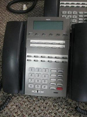Nec 1090020 Dsx 22b Display Tel Bk Telephone Good Disp Dx7na-22btxh 1yr Warranty