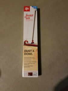 Dirt Devil Dust and Go Dry Mop with Microfiber Cleaning Pad