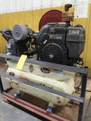 12.5 Hp Gas Kohler Ingersoll-rand Pallet Mntd Portable 2-stage Air Compressor