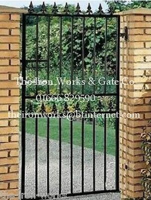 # STRONG SECURITY GATE SAXON SINGLE/GATES 2m tall # BEST BUY MADE TO MEASURE