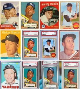 BUYING MICKEY MANTLE CARDS