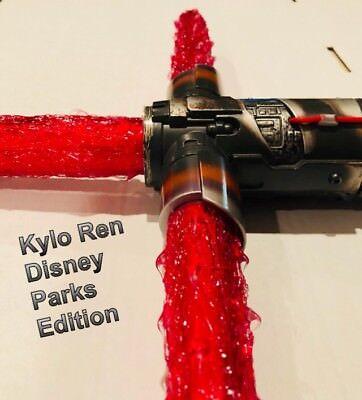 Star Wars Lightsaber Red (ULTIMATE STAR WARS RED FLAME BLADE KYLO REN LIGHTSABER COVER for DISNEY PARK)