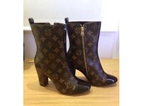 LV ankle boots