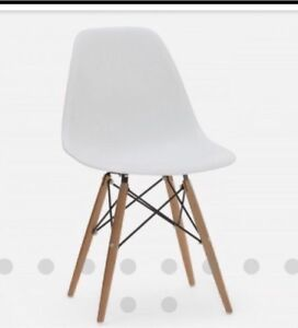 Looking for four white or taupe eiffel chairs