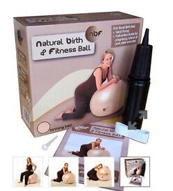 Natural birth & fitness ball