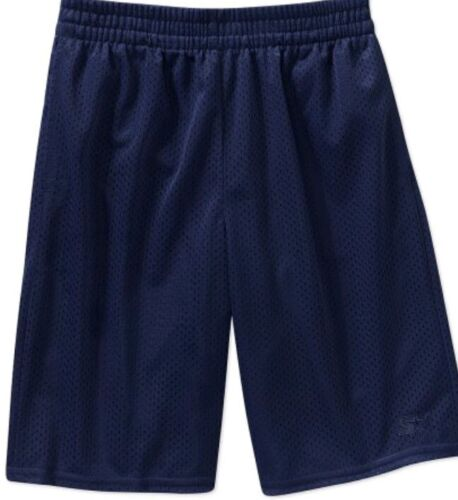 Starter Mens Navy Blue Drawstring Dazzle Shorts Size Small 2