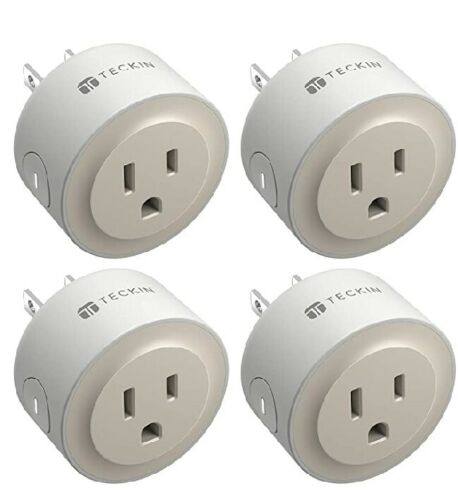 Smart Plug Home Mini WiFi Outlet Compatible with Alexa Echo&