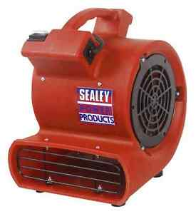 New-Sealey-Portable-Floor-Carpet-Flood-Dryer-Air-Blower-Mover-Fan-240-Volt