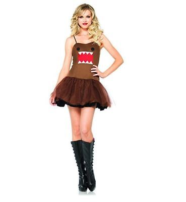 Leg Avenue Womens Domo Kun Tutu Dress Cosplay Halloween Party Costume - Halloween Domo Costume