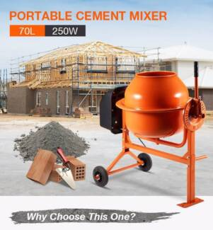 70L Portable Cement Mixer Wantirna South Knox Area Preview