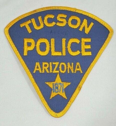 TUCSON ARIZONA AZ POLICE SHOULDER PATCH *1871*