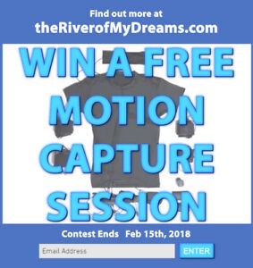 Enter now for a FREE motion capture session