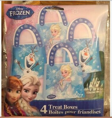 Disney FROZEN Cute Treat Boxes-Total of 4 Boxes with Handles