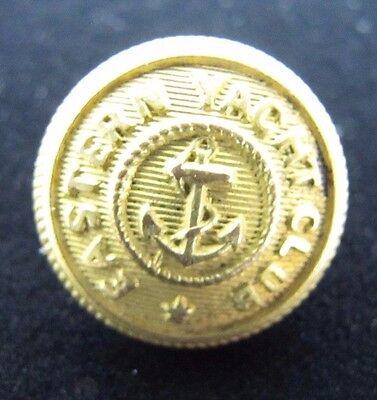 Old EASTERN YACHT CLUB Nautical Adv Button Simmons & Co Boston ornate *NOAG