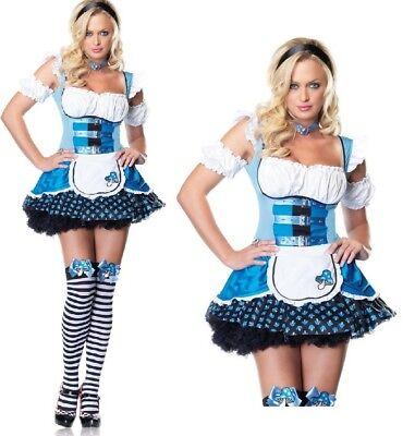 Magic Mushroom Alice Costume, 6-18, Leg Avenue, Alice In Wonderland Fancy Dress - Alice In Wonderland Mushroom Costume