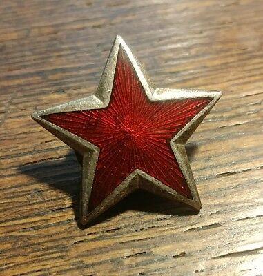 Vintage Roter Stern Pin Red Star Petokraka Tito Jugoslawien Serbien Armee JNA