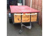 Large Trailer with Lid VGC
