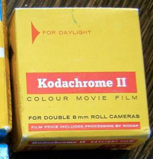 8MM Kodachrome Film - New & sealed in box