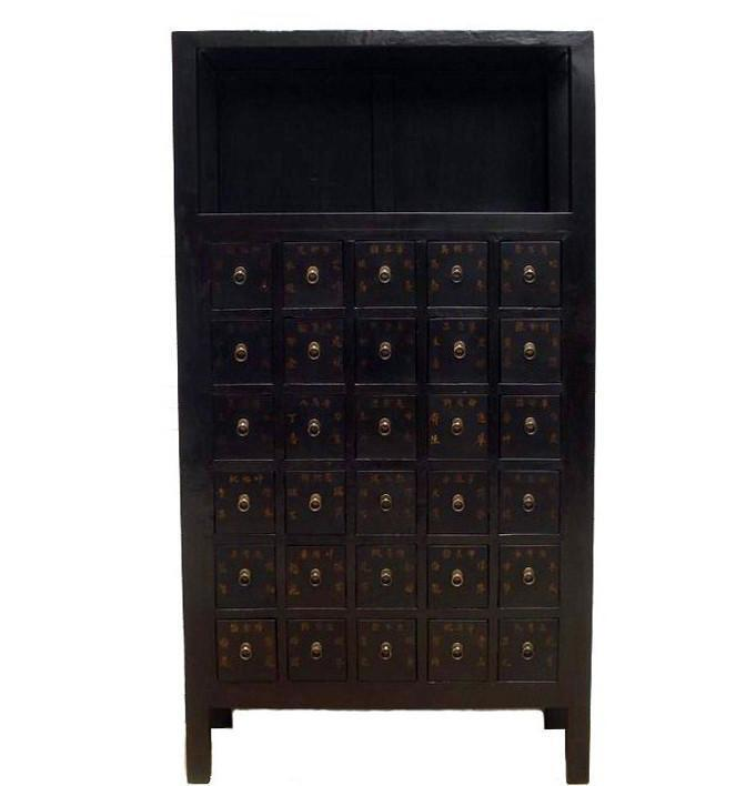 Chinese Herb Medicine Cabinet