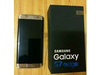 Samsung Galaxy S7 Edge. Gold colour. Unlocked. Excellent condition.