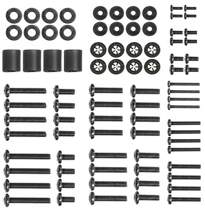 Universal TV Mounting Hardware Pack Fits All TVs Screws and