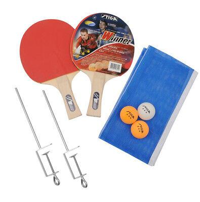 Stiga Tischtennis Komplett Set Table Tennis Ping Pong Tischtennisset neu