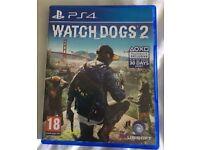 Watchdogs 2 PS4 mint