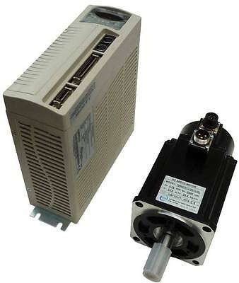 750 Watt Teco Ac Brushless Servo Motor And Drive Power And Encoder Cables