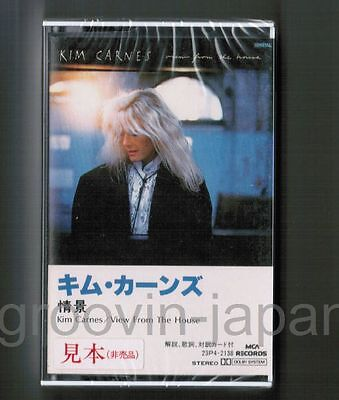 Sealed Promo KIM CARNES View From The House JAPAN CASSETTE TAPE 23P4-2138 FreeSH