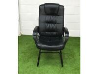 Foam leather cantilever cheap cheap office furniture