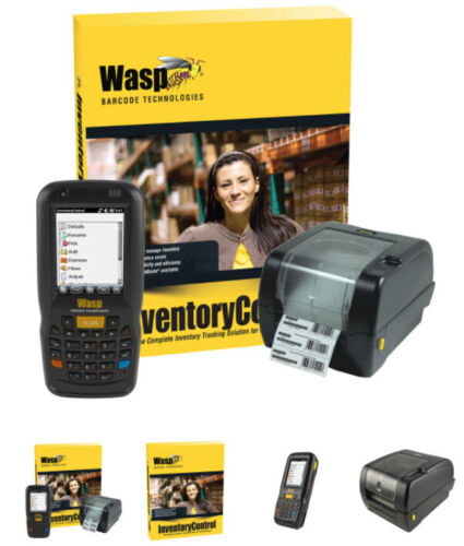 Wasp Inventory Control System Standard with scanner WDT60 & WPL305 633808929404