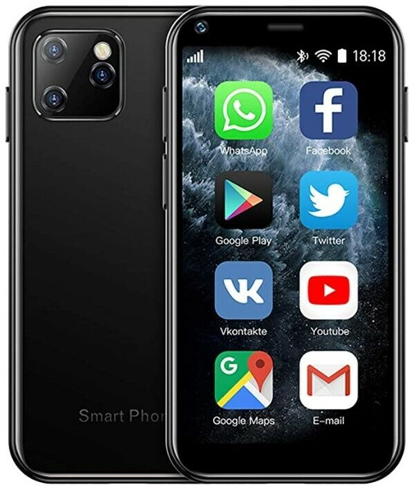 SOYES XS11 Mini Smartphone GooglePlay Small Android Phone (T-Mobile)(AT&T)