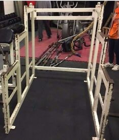 Squat rack Indestructible Rogue Fitness Eleiko weightlifting Crossfit L()()K