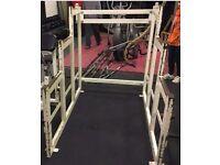 Squat rack Indestructible Rogue Fitness Eleiko weightlifting Crossfit L()()K