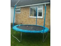 8ft trampoline £10