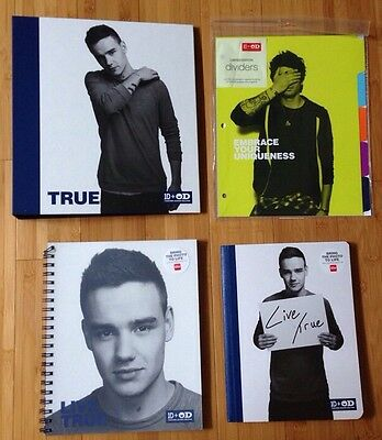 One Direction 4 Piece School Supplies Featuring Liam - One Direction School Supplies