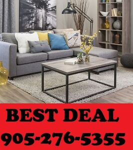 2PCS CANADIAN MADE SOFA N CHAISE ONLY $599.00