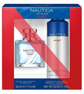 Nautica Voyage Sport 2-Piece Gift Set with 1.7-Ounce Eau de Toilette and 6-Ounce