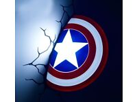 Captain America shield light