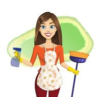 Experienced housekeeper will an opening for you!