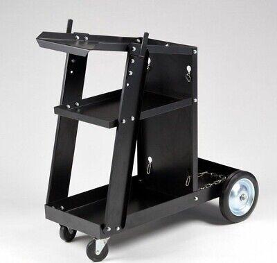 Welding Cart W Tank Storage Mig Tig Mag Arc Plasma Welding Machine Welder Tool