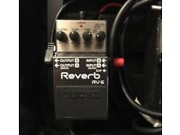 Boss RV-6 Reverb Effects Pedal
