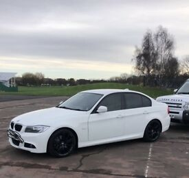 BMW 320D M SPORT BUISNESS EDITION 2010 184 BHP HPI CLEAR SWAPS OR CASH £8,500 ONO