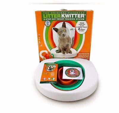 Litter Kwitter Cat Toilet Training System - -